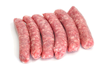 pork meat sausages