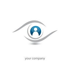logo entreprise, logo oeil