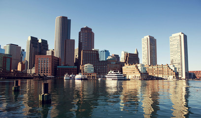 Boston from Fan Pier.