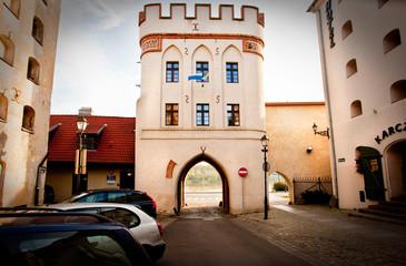 Gateway in Toruń,Poland