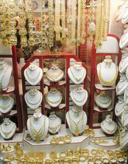 Goldladen auf Arabischem Basar