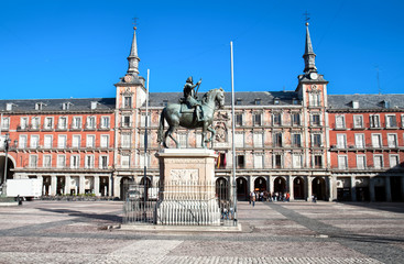 Plaza Mayor , Madrid, Spain