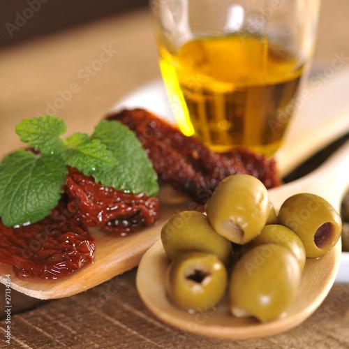 Kuchnia śródziemnomorska Stock Photo And Royalty Free