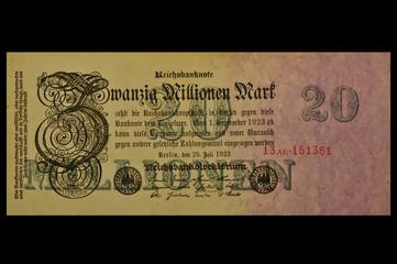 20 Mio Mark 1923