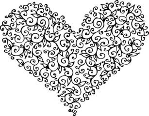 Romantic Heart vignette CCXIII