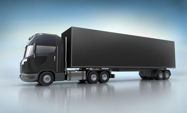 Black Truck illustration. My Own design