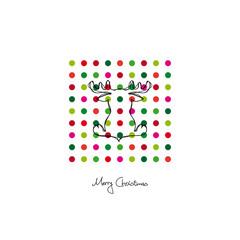 "Xmas Card ""Merry Christmas"" Reindeer"