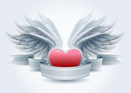 Angel love banner