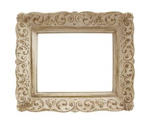 Vintage Plaster Picture Frame