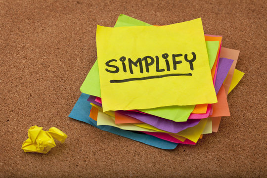 simplify reminder