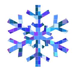 ilustration of snowflake