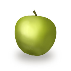 яблоко, иллюстрация