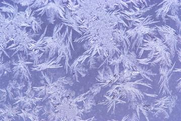 hoar-frost background