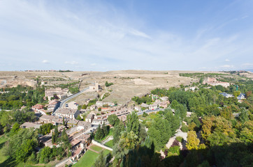 A general view of Segovia countryside