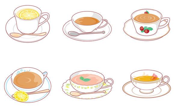 紅茶いろいろ