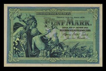 5 Mark 1904