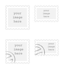 Briefmarken mit/ohne Stempel
