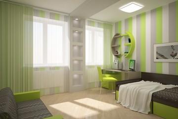 nice green children interior