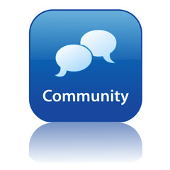 COMMUNITY Web Button (share users forum blog chat buzz like ok)