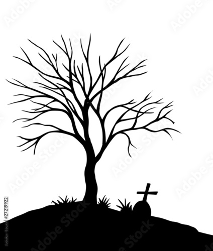 spooky tree stock image and royalty free vector files on fotolia