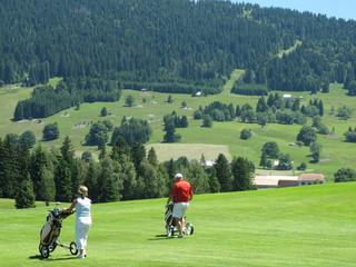 golfeurs en suisse