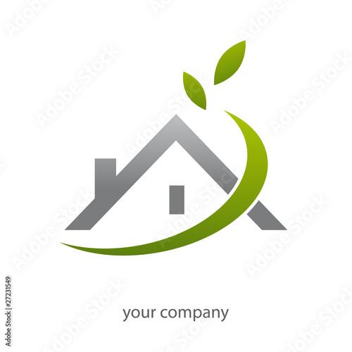 logo entreprise habitat fichier vectoriel libre de droits sur la banque d 39 images. Black Bedroom Furniture Sets. Home Design Ideas