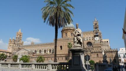 Palermo Palazzo Reale Italien Sizilien Altstadt Architektur