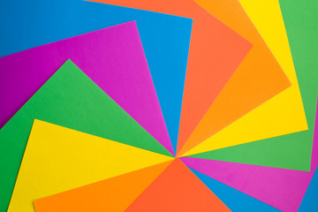 Background from Colourful Paper