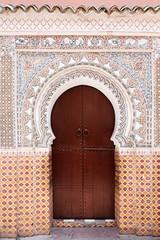 Moroccan door.