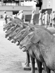 Terracotta Warriors in Xian / China