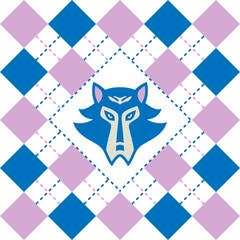 Tartan wolf logo