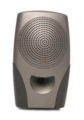 portable black speaker