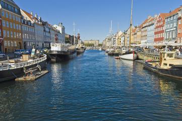 Nyhavn colorful buildings at Copenhagen