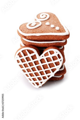 Gingerbread Hearts Stock Photo And Royalty Free Images On Fotolia