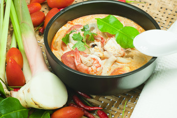 Tom Yum Goong - Spicy Shrimp Soup