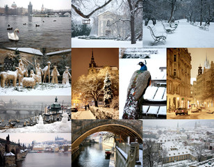 Winter Prague in pictures
