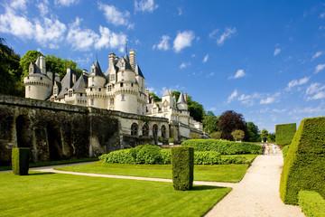 Fototapete - Ussé Castle, Indre-et-Loire, Centre, France