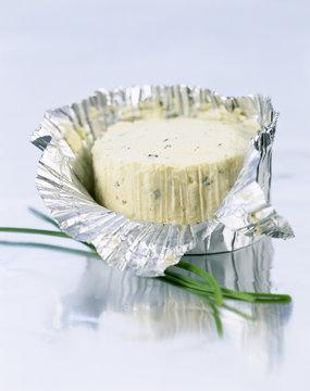 Boursin, fromage frais à l'ail et à la ciboulette