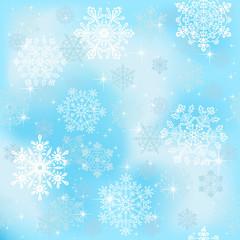 Seamless snowflakes wallpaper