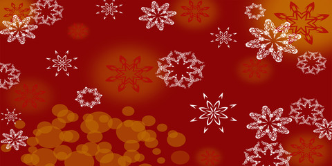abrstract Illustration, christmas red
