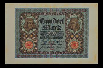 100 Mark 1920