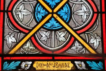 glas in lood kerk