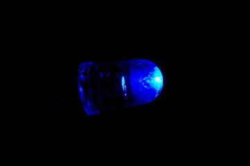 青色発光ダイオード/点灯