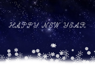 New year card background