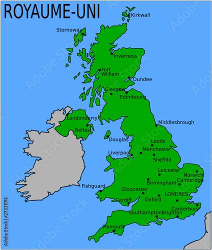 Carte De L Angleterre Sans Ville