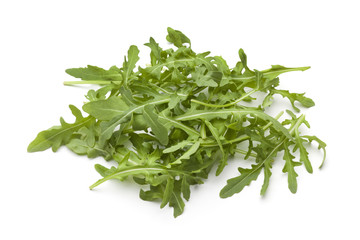 Heap of rucola lettuce
