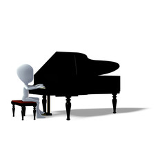 Pianist Logo Icons