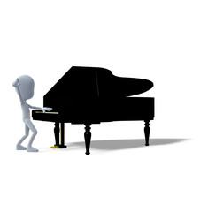 Musikstar Klavier Symbol
