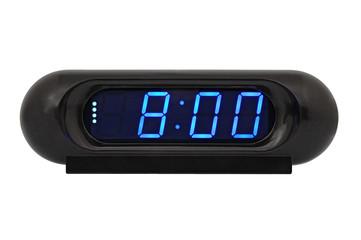 Desktop electronic clock