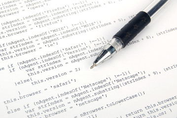 Html page and pen